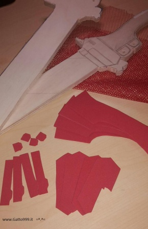 Cosplay howto create Eren Jaeger swords from Attack on Titan