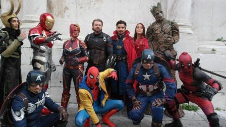 Cosplay Avengers 2018
