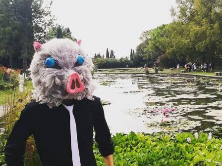 Inosuke Mask for Cosplay