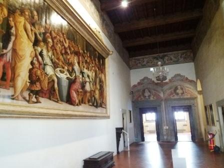 Ricerca: Giorgio Vasari - Convito per le nozze di Ester e Assuero (1549)
