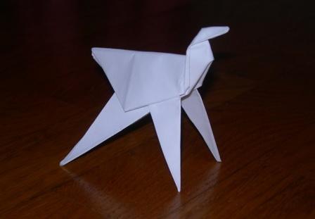 Origami cavallo
