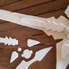 Cosplay instructions Dark Repulser Sword