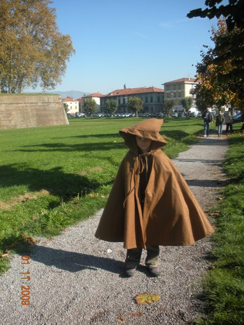Fratellino ha impersonato un Jedi