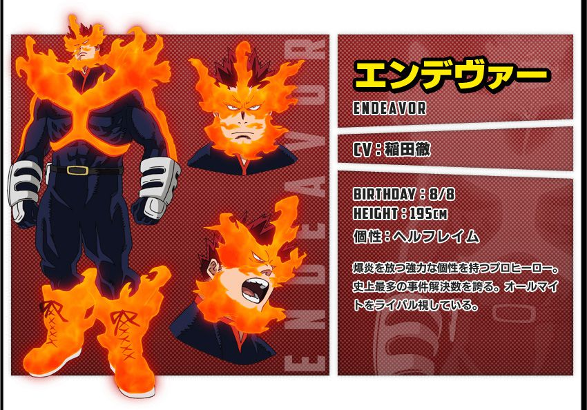 Endeavor - Hero number 2