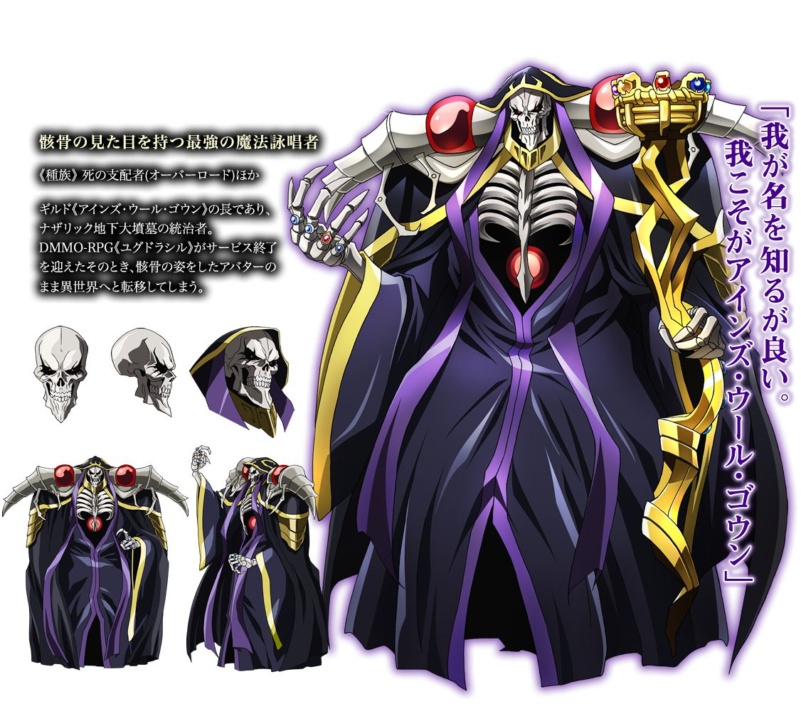 Ainz Ooal Gown - outfit idea