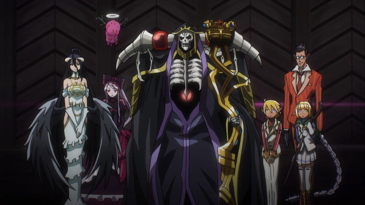 Overlord  characters - special suit for cosplay idea