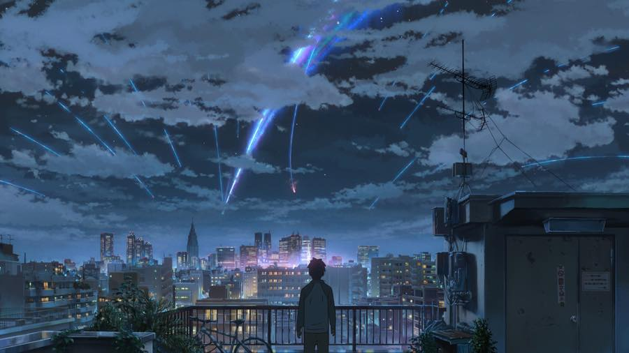 Film Cartoon - Your Name - Kimi no Na wa (love anime story) - Taki - Tokyo comet Tianmat