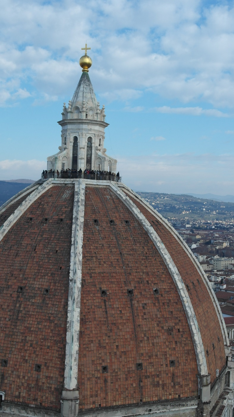 Campanile del Duomo di Firenze, vista panoramica sulla città - Tower Cathedral Florence skyline panorama adventure on the high floor - Cupola rinascimento rinascimentale Brunelleschi Medici Firenze
