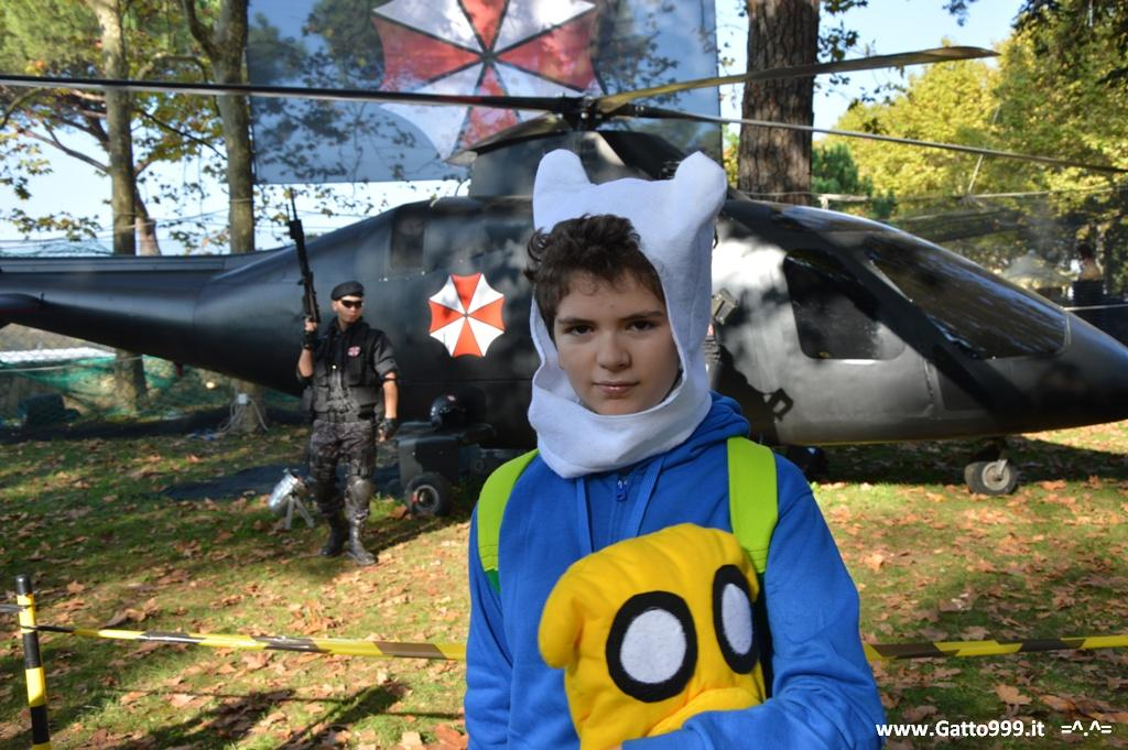 Umbrella Corporation e Finn di Adventure Time