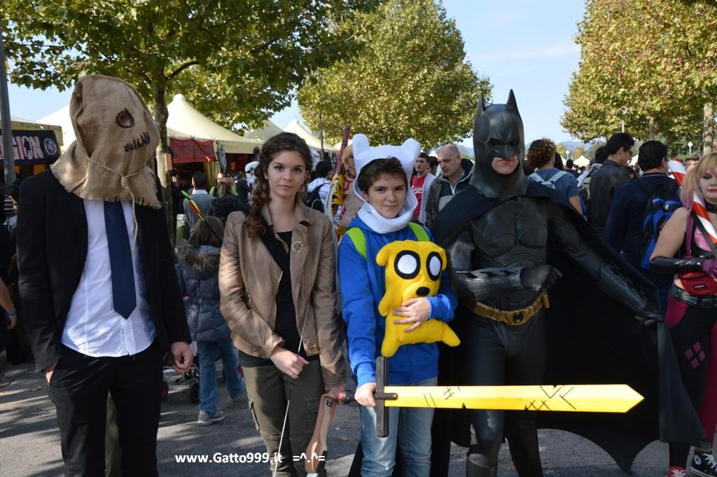 Lucca Comics and Games 2013 - batman con lo spaventapasseri