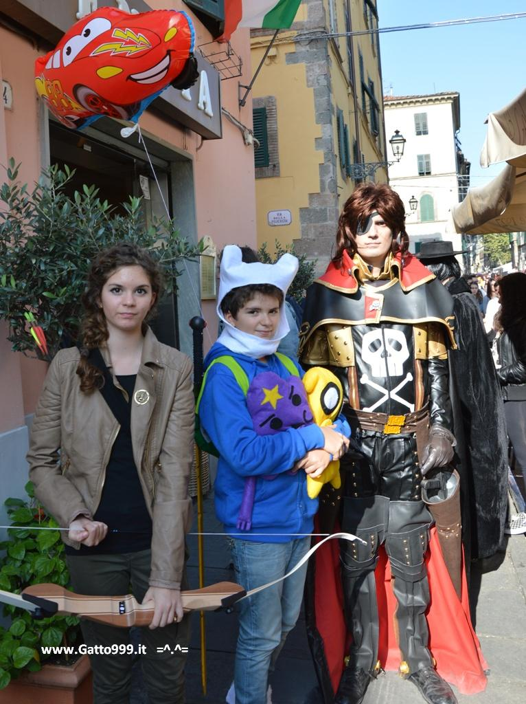 Lucca Comics and Games 2013 - Capitan Harlock