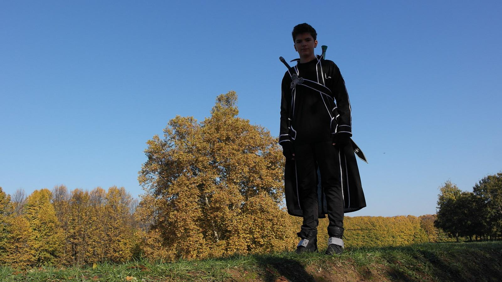 Lucca Comics and Games 2015 - Cosplay Kirito Sword Art Online