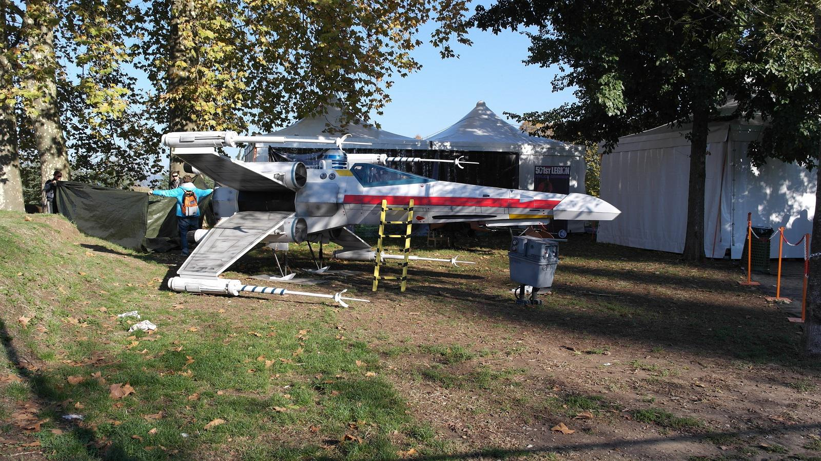 Lucca Comics and Games 2015 -  Star Wars Caccia Stellare Alleanza - XWing Ribelle Rebels