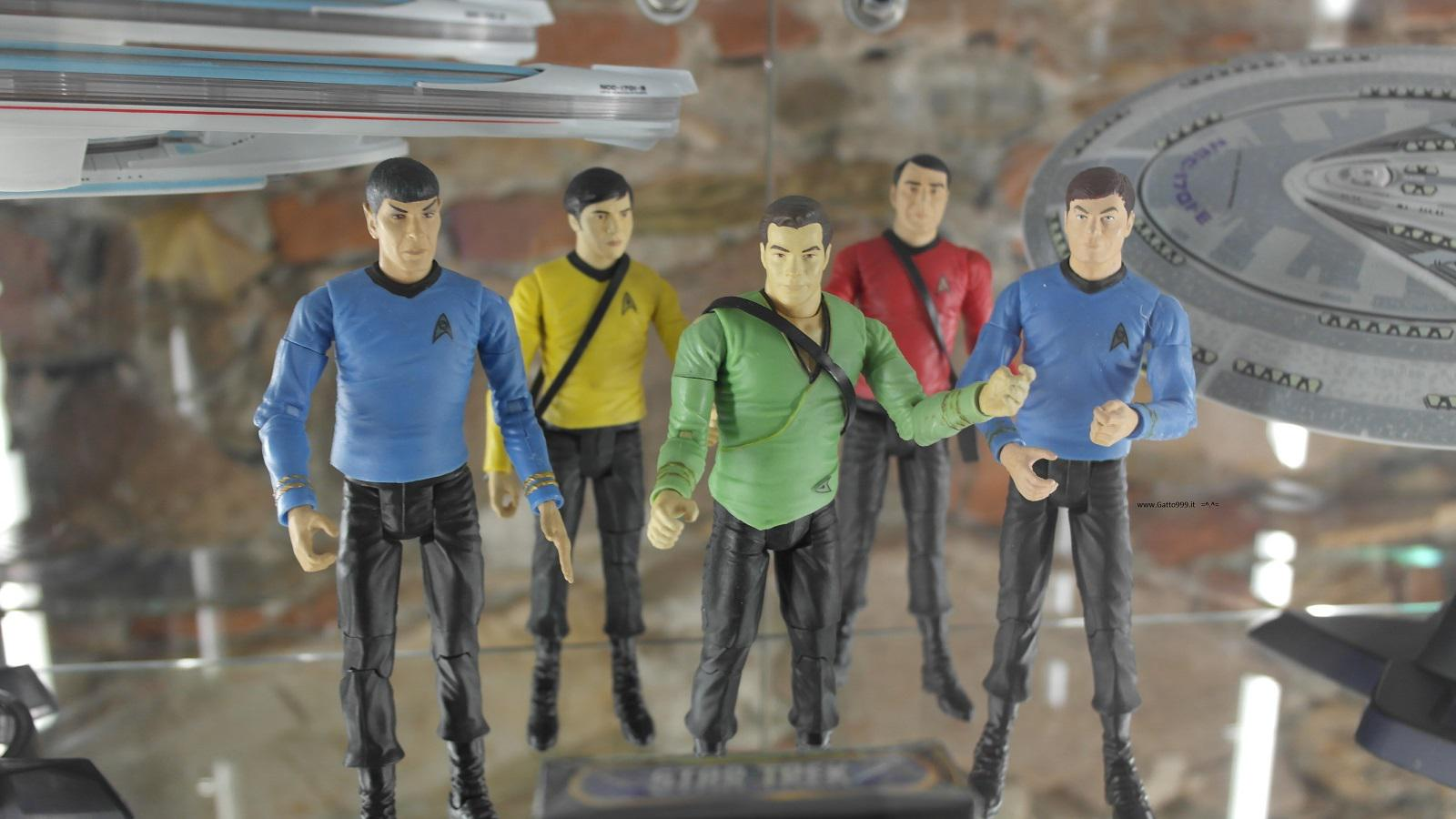 Lucca Comics and Games 2015 -  Star Treck classic action figures