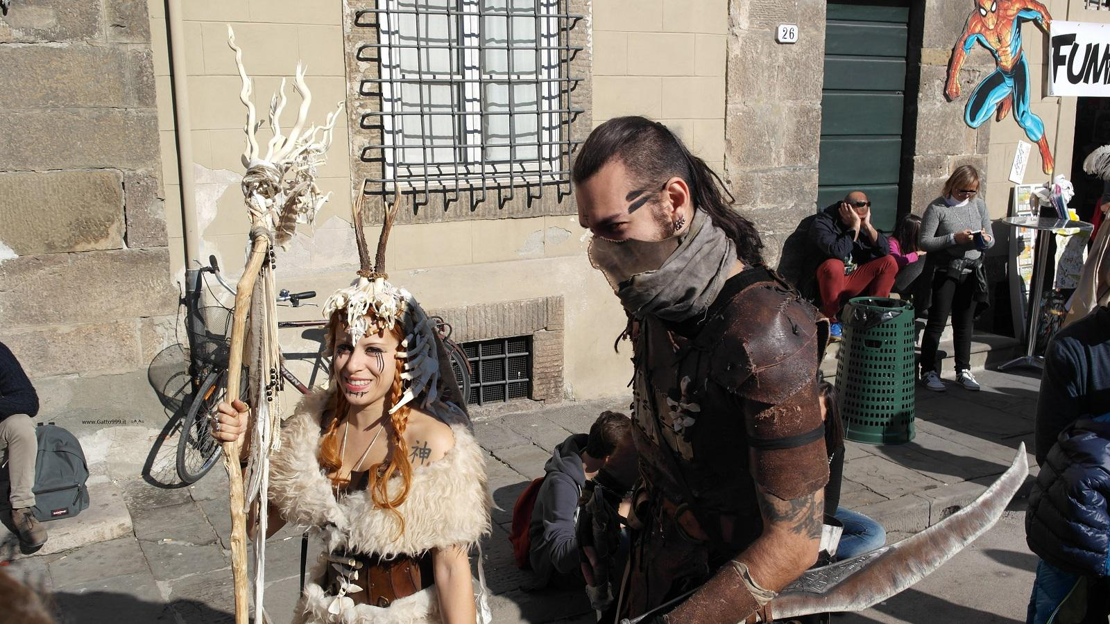 Lucca Comics and Games 2015 - Mononoke cosplay