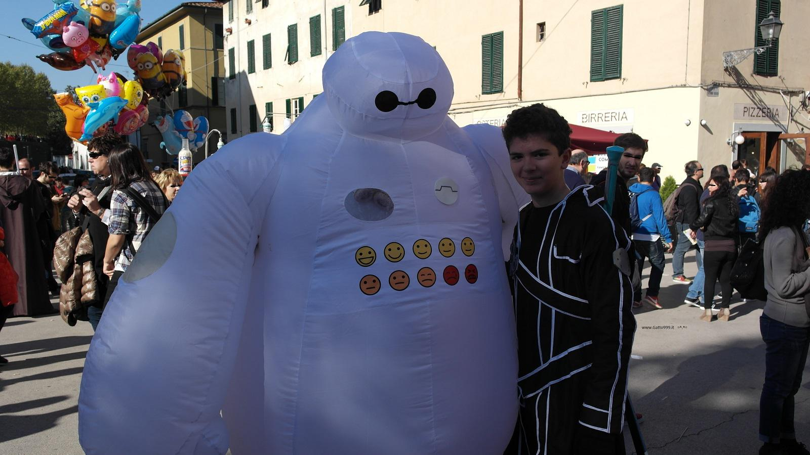 Lucca Comics and Games 2015 - Big Hero 6 cosplay - Big Hero Six Baymax cosplay