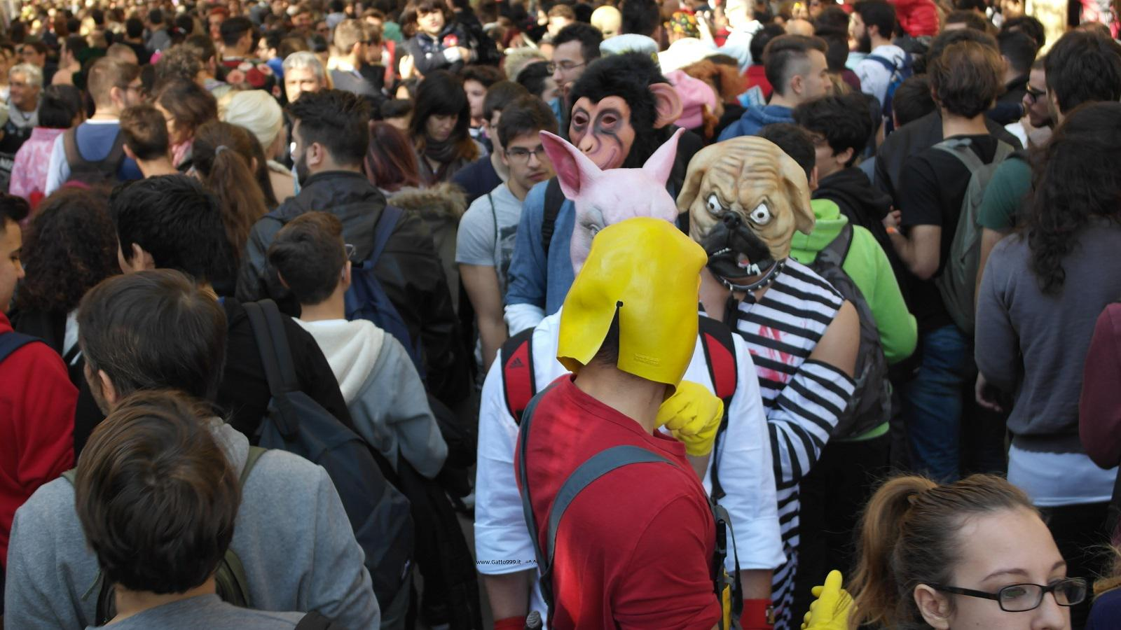 Lucca Comics and Games 2015 - Street People