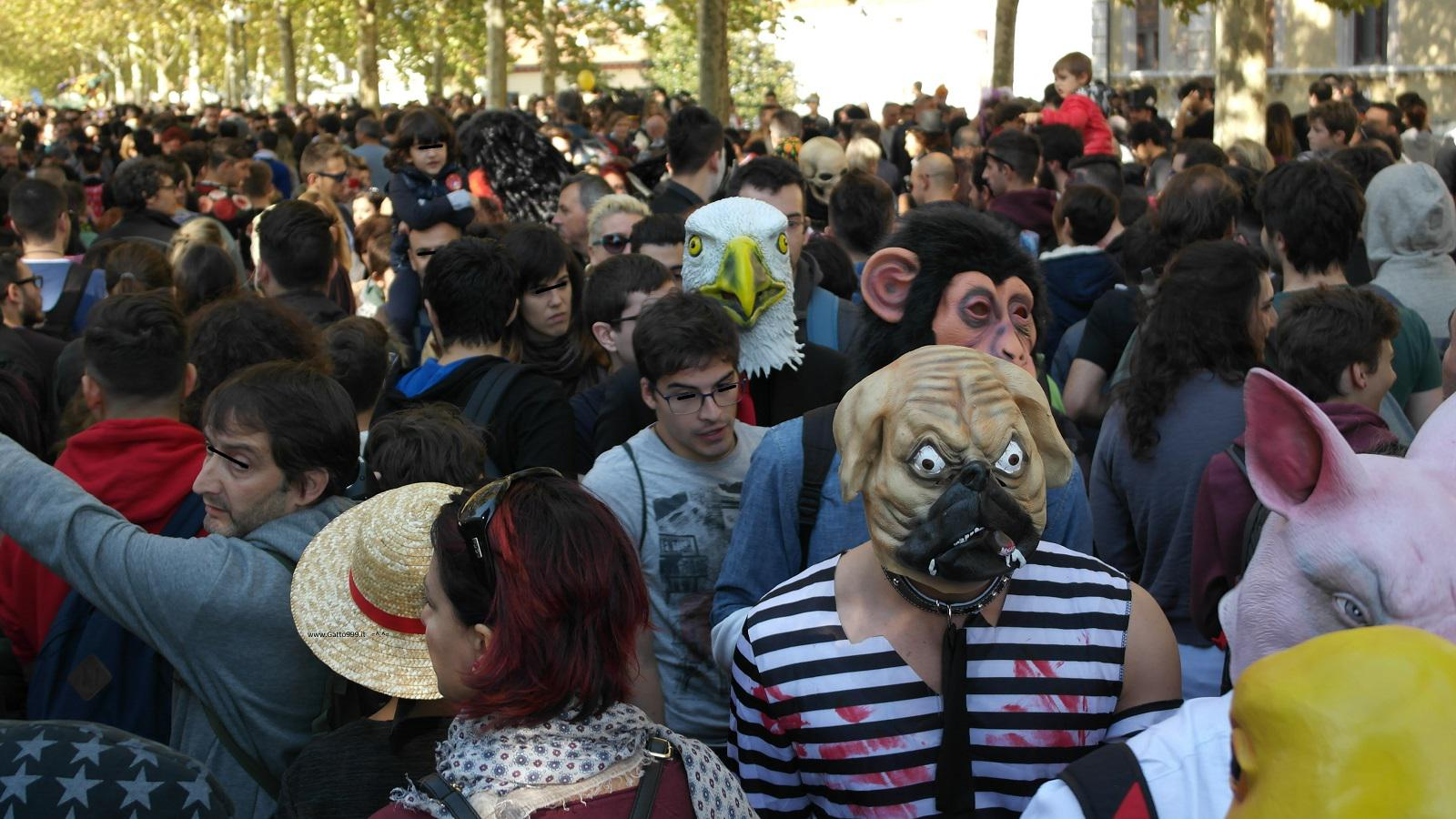 Lucca Comics and Games 2015 - Street Dog People