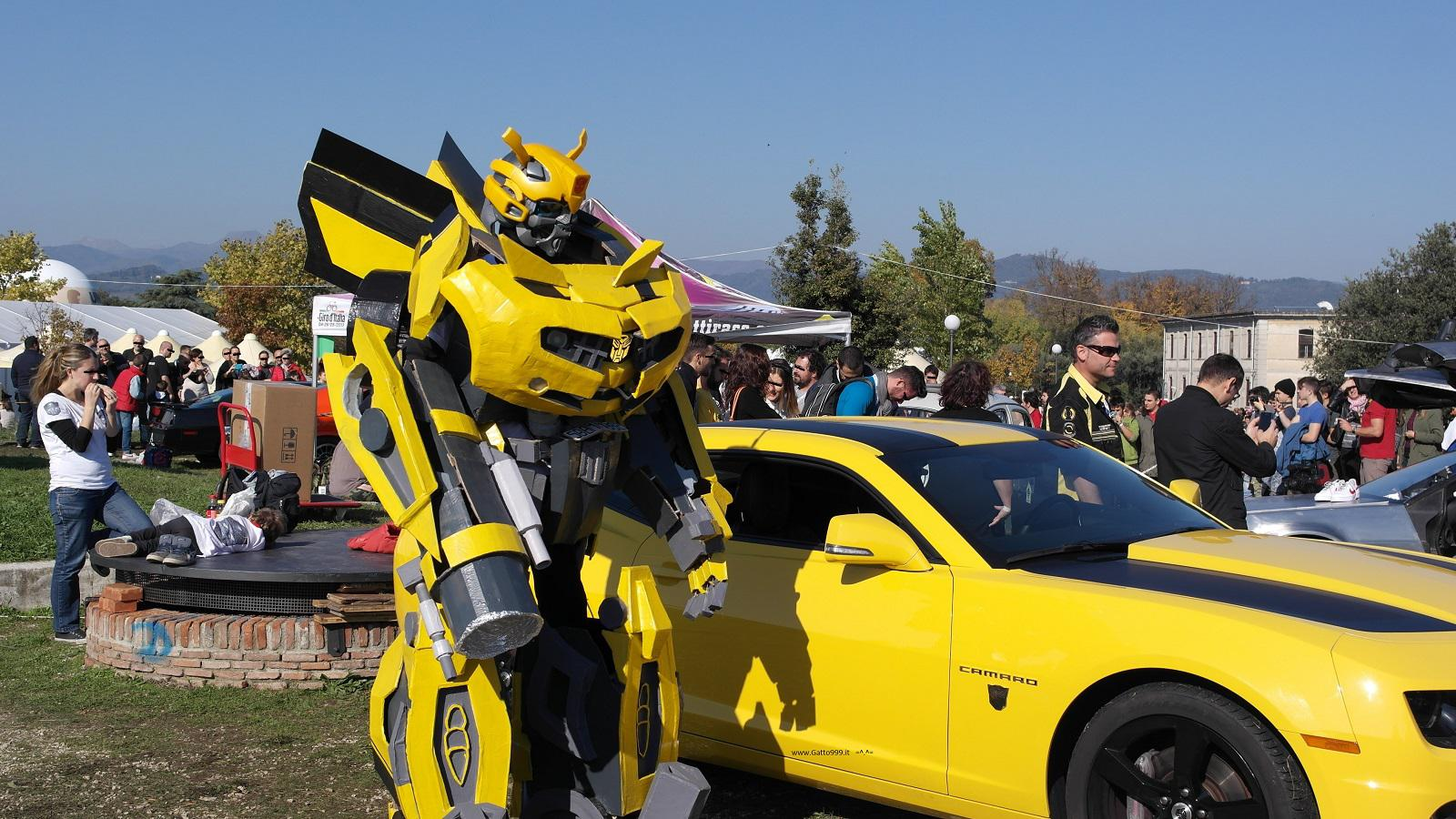 Lucca Comics and Games 2015 - Bumblebee Cosplay - Transformers Cosplay