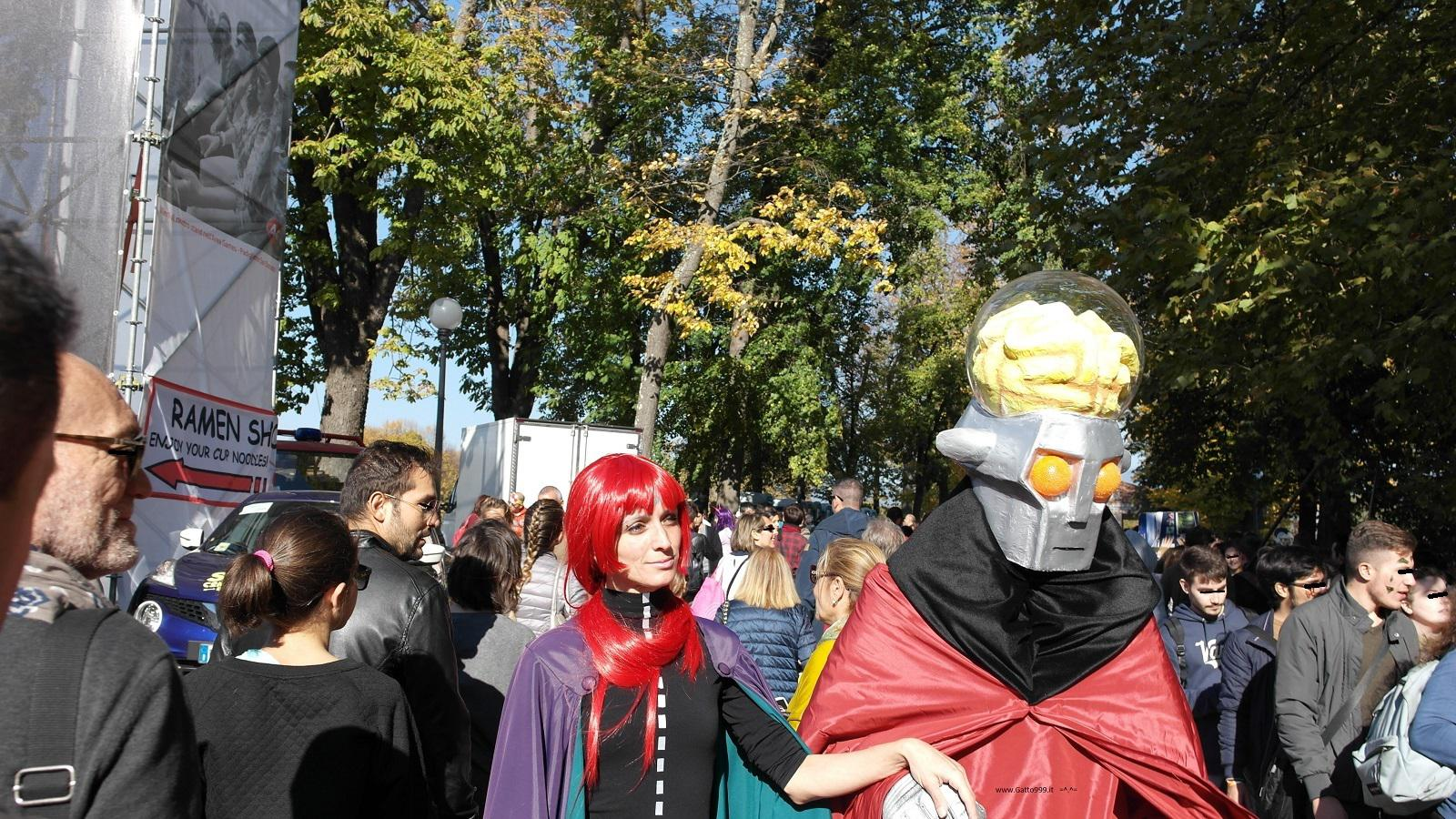Lucca Comics and Games 2015 - Daitarn 3 cosplay Don Zauker (ドン・ザウサー) - Cosplay Koros (コロス)