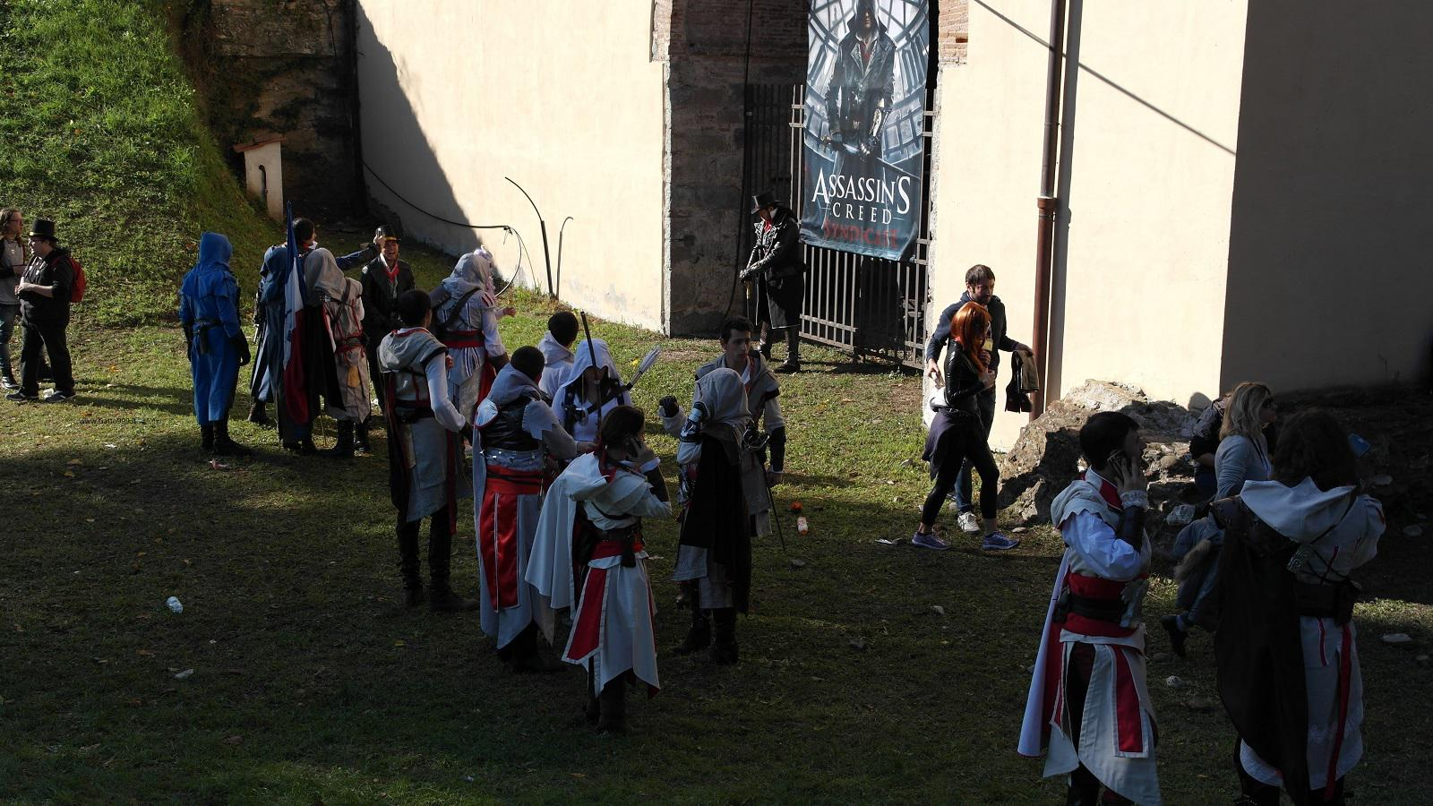 Lucca Comics and Games 2015 - Cosplay Assassin's Creed
