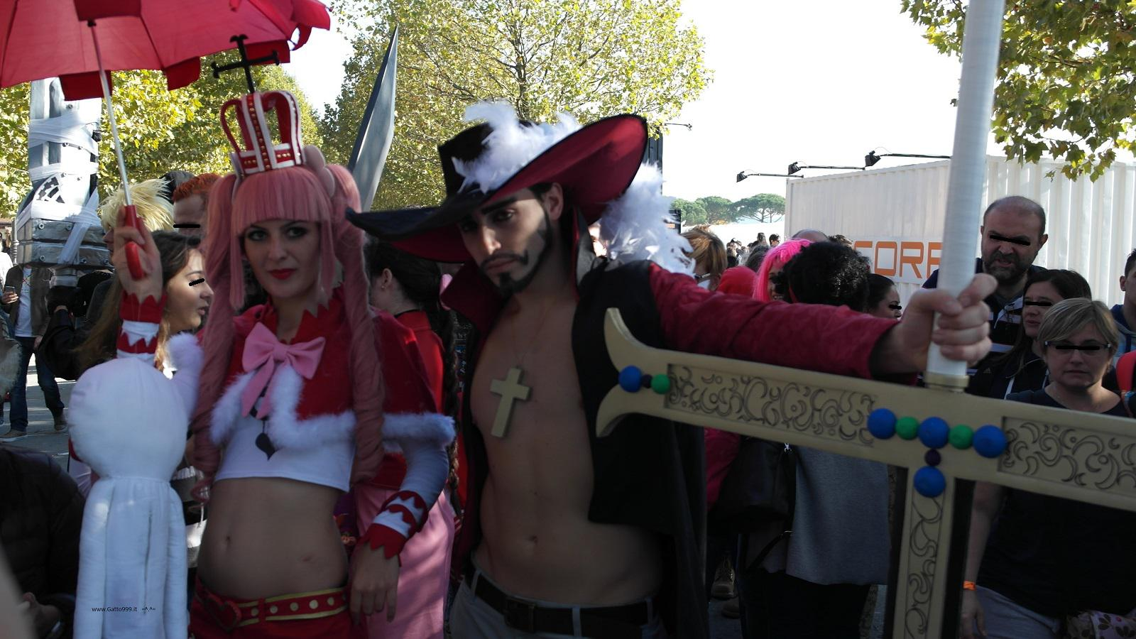 Lucca Comics and Games 2015 - Cosplay One Piece