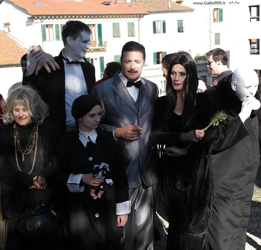 Lucca Comics and Games 2015 - Cosplay Addams Family