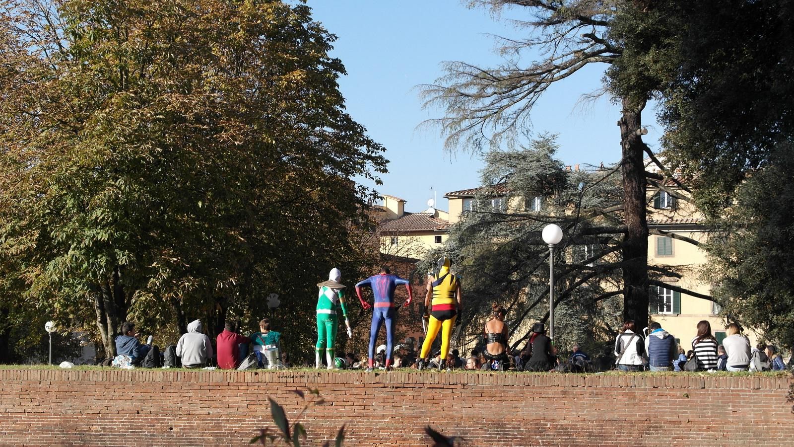 Lucca Comics and Games 2015 - Zentai Cosplay