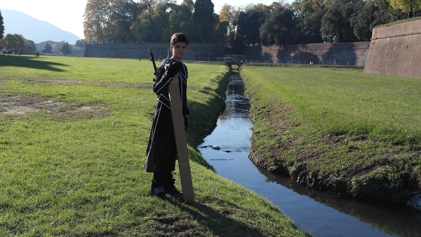 Lucca Comics and Games 2015 - Cosplay Kirito Sword Art Online   Lucca Comics and Games 2015 - Cosplay Kirito Sword Art Online