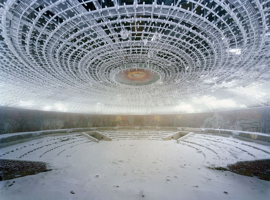 Map 1000 crazy places to see - Buzludzha