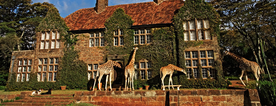 Map 1000 crazy places to see - Giraffe Manor - Karen Hardy - Nairobi