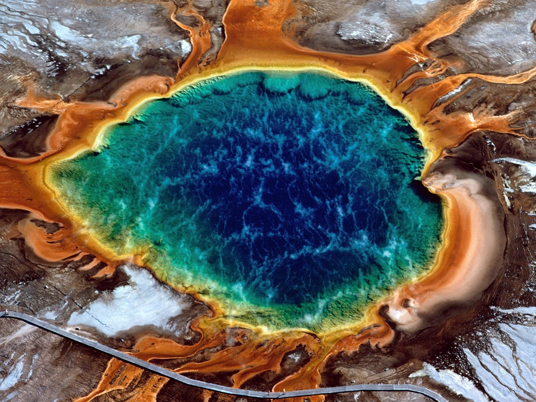 Map 1000 crazy places to see - Grand Prismatic Spring