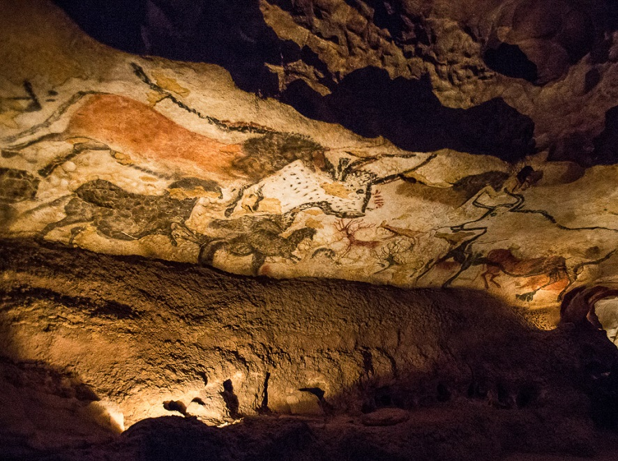 Map 1000 crazy places to see - Grotte de Lascaux II