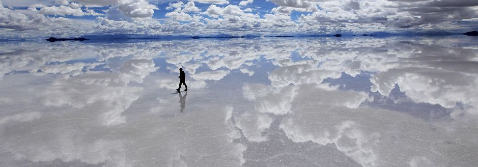 Map 1000 crazy places to see - Salar de Uyuni