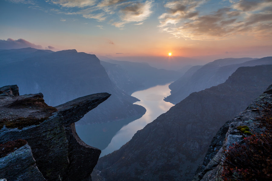 Map 1000 crazy places to see - Trolltunga