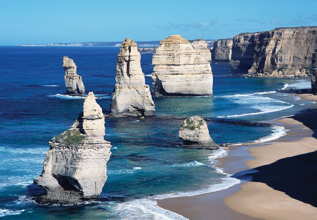Map 1000 crazy places to see - Twelve Apostles