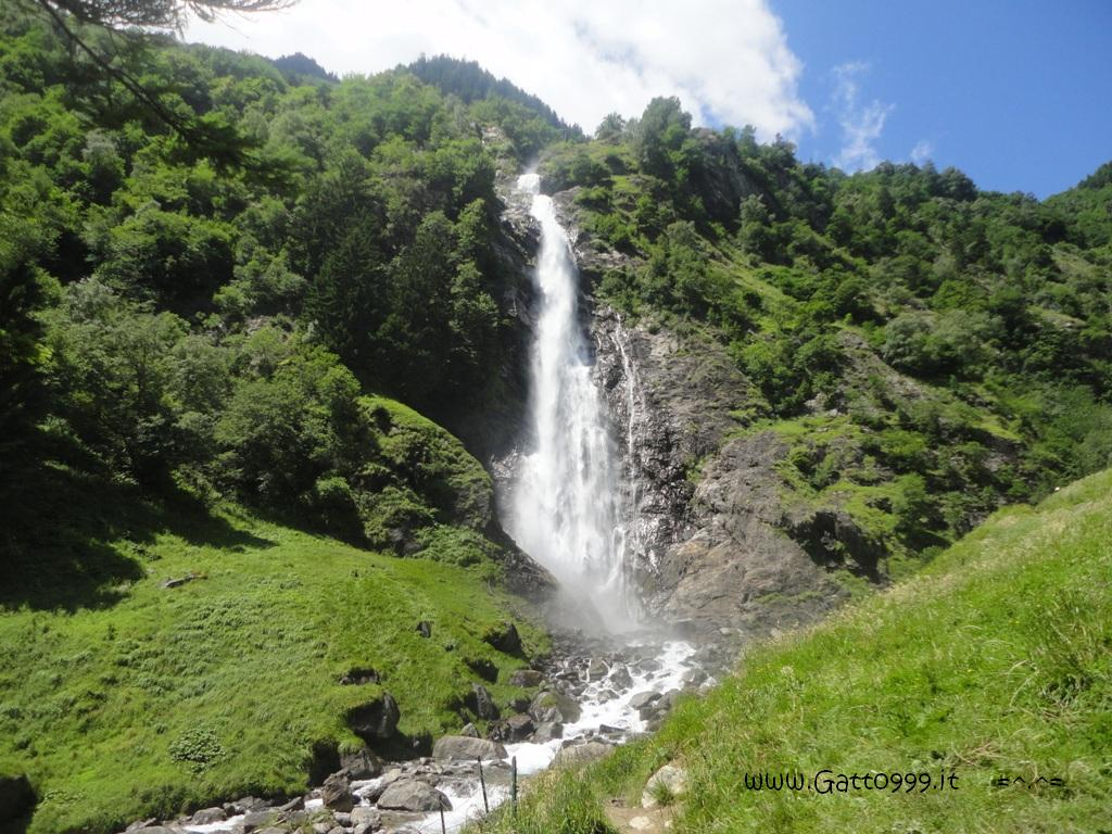 Cascate Percines - Partschinser Wasserfall - Val Senales (Italy)