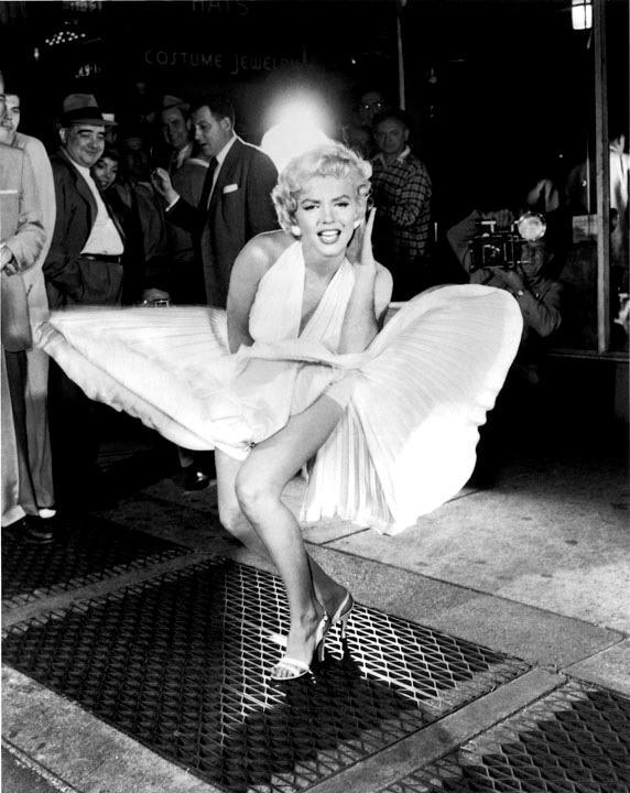 New York - Dove hanno scattato la foto di Marilyn Monroe con la gonna al vento - Lexington Avenue