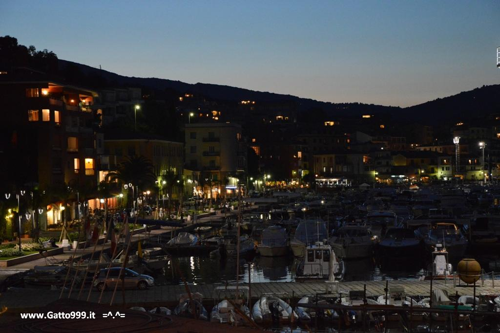 Porto Ercole (Argentario - Italy) by night