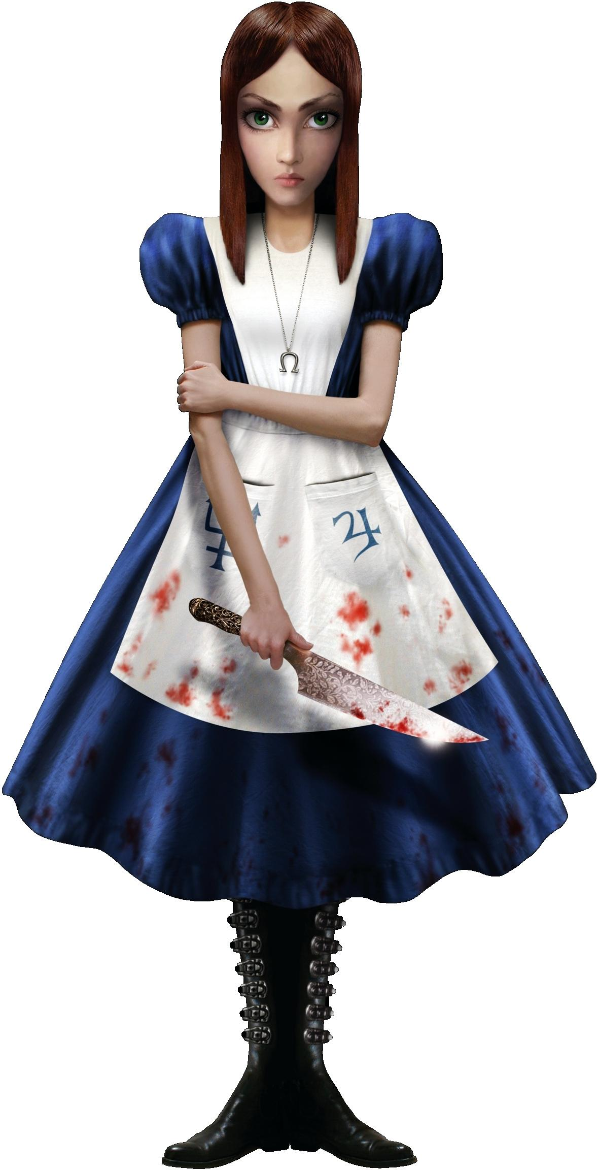 Alice McGee in Wonderland game per PC e PS3 Madness Returns