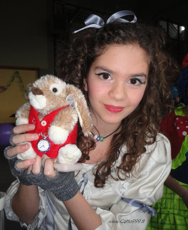 Carnevale 2013 ... ebbene io sono Alice in Wonderland ... Fable's Cosplay ...