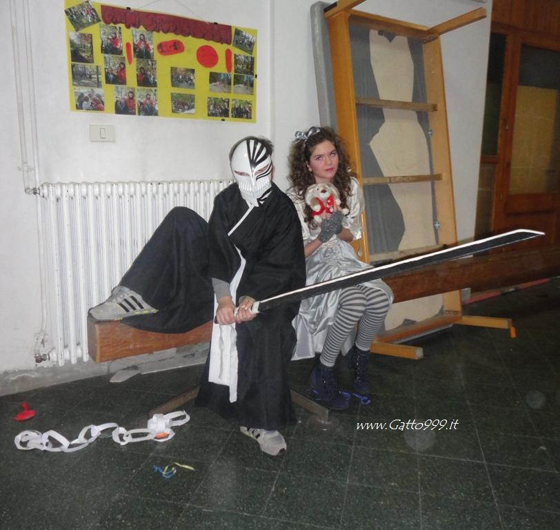 Carnevale 2013 ... mio Fratello è Ichigo dell'anime Bleach ... Anime's Cosplay ...