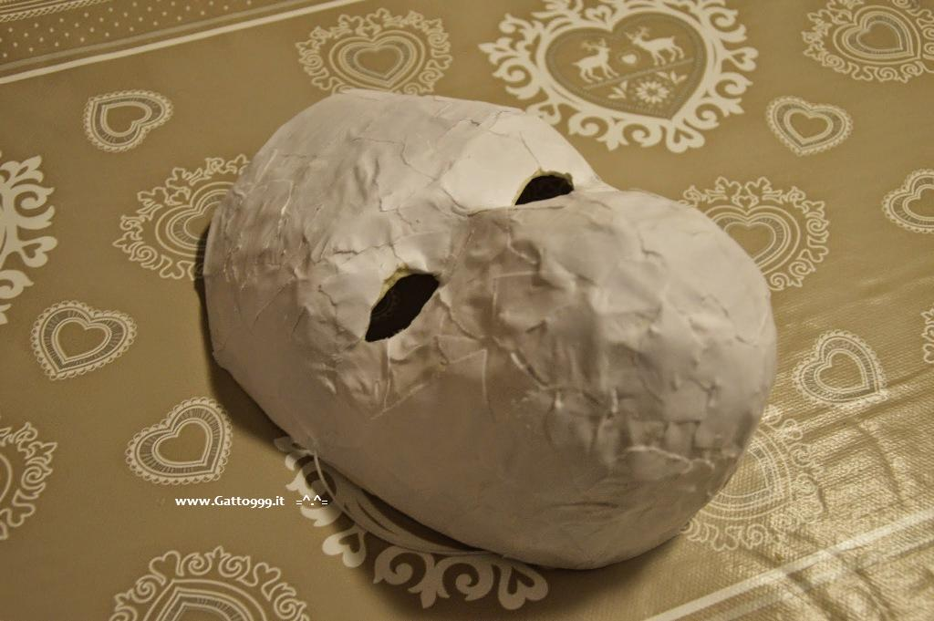 Istruzioni per costruire in casa la maschera di Gin (Mask of Hotarubi no mori e) - howto create a mask of Gin of the anime Hotarubi no mori e for cosplay