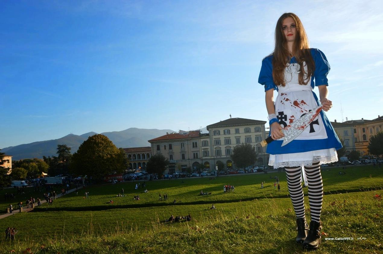 Cosplay Alice McGee Madness Return - Lucca Comics 2014