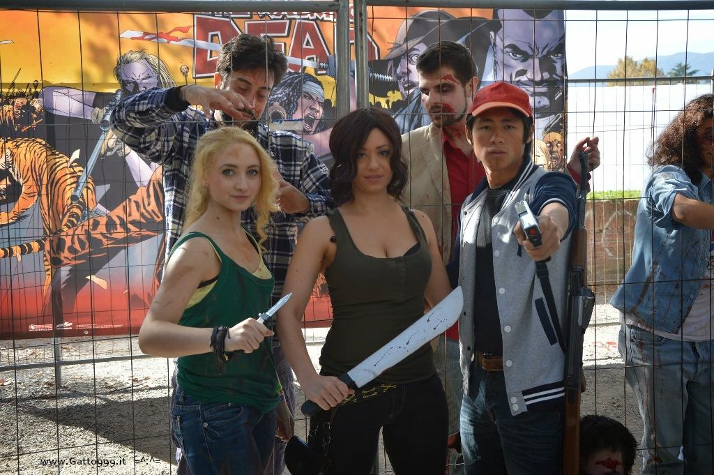 Cosplay the Walking Dead (Beth, Glenn e Maggie) Lucca Comics and Games 2014