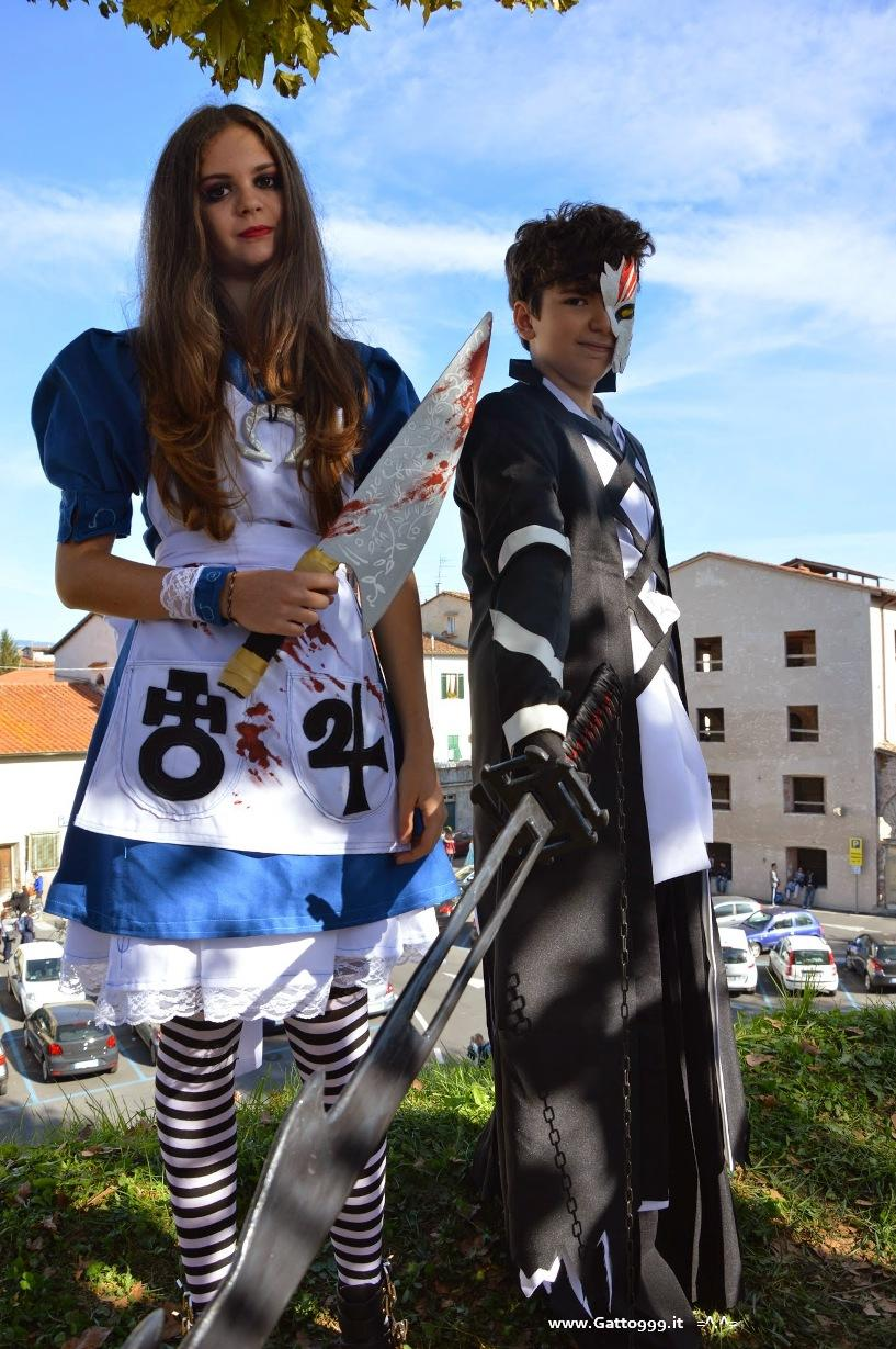 Cosplay Bleach e Alice McGee Madness Return - Lucca Comics 2014