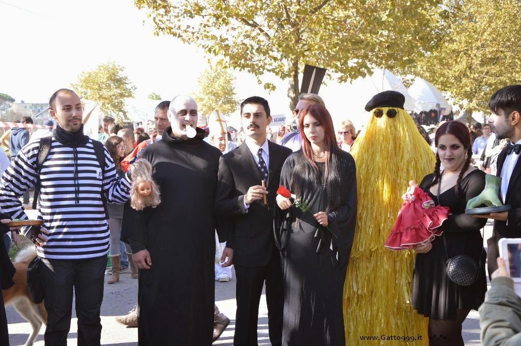 Cosplay Famiglia Addams - Addams Family Lucca Comics 2014