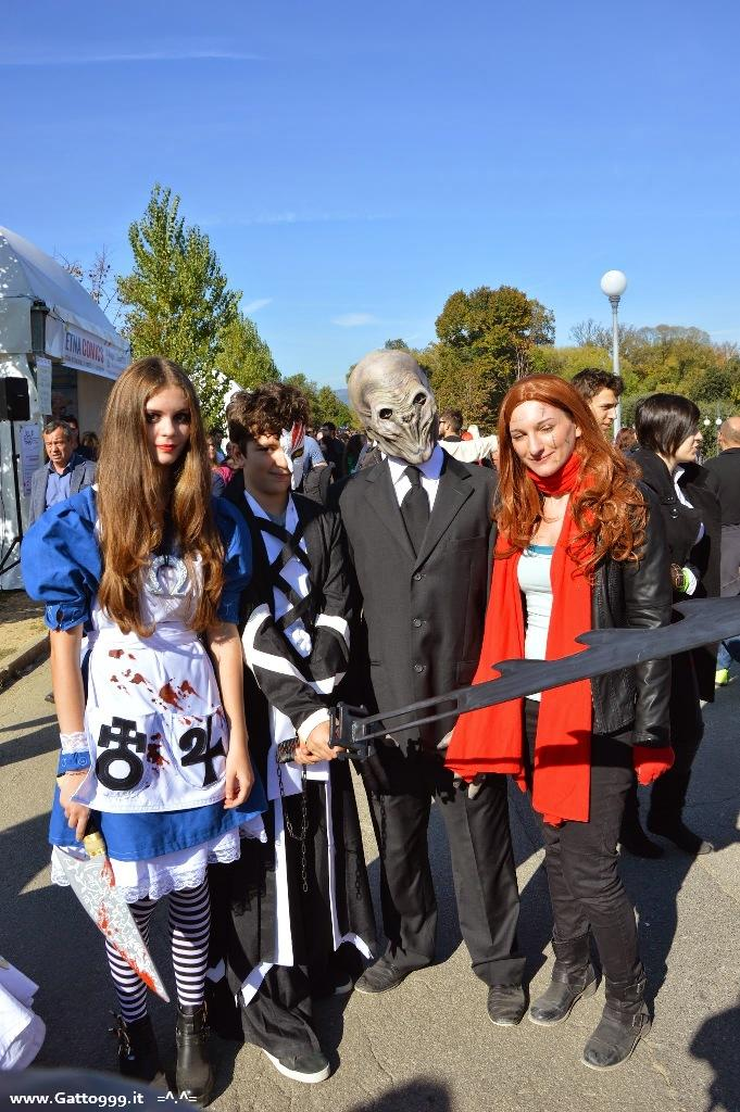 Cosplay Amy Pond e il Silenzio - Lucca Comics and Games 2014