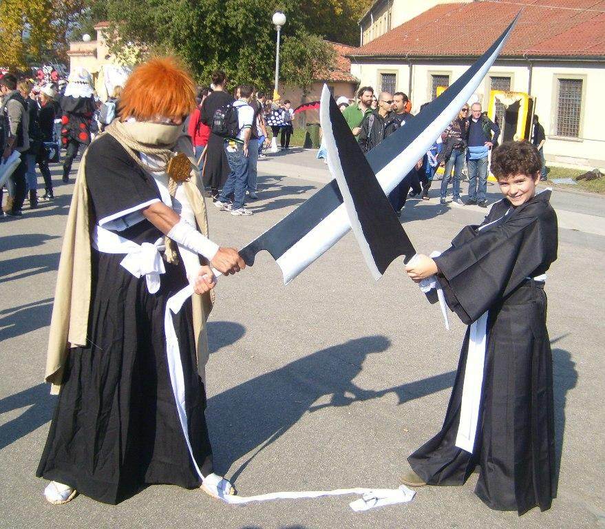 Lucca Comics and Games 2011 - Cosplay - Ichigo vs Ichigo - Bleach vs Bleach