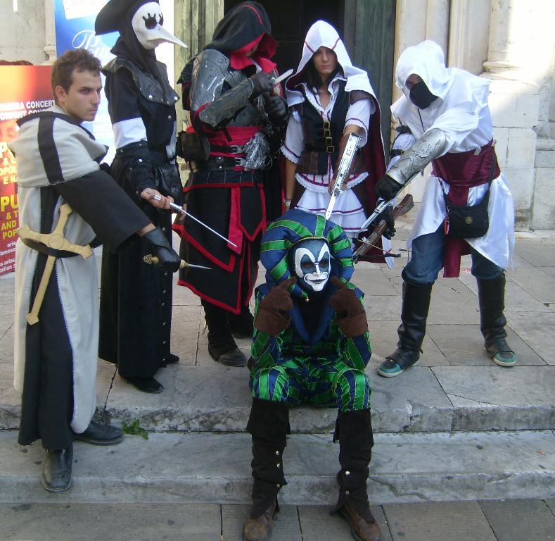 Lucca Comics 2011 Cosplay - Assassin Creed ...